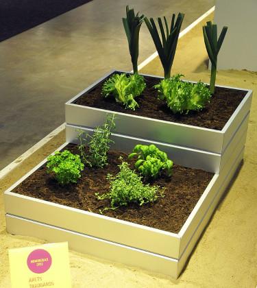 Biggi Garden Odla, odlingsbänk, MMV Produkter. Foto: Bernt Svensson