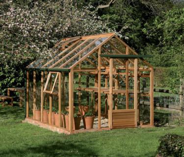 Forumet på Odla.nu är en bra källa till information. Om hur du bygger ett växthus till exempel. Foto: Willab Garden