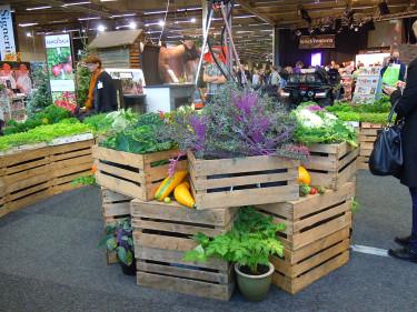 Mat- och trädgårdsavdelningen var populär att vimla i. Foto: Sylvia Svensson