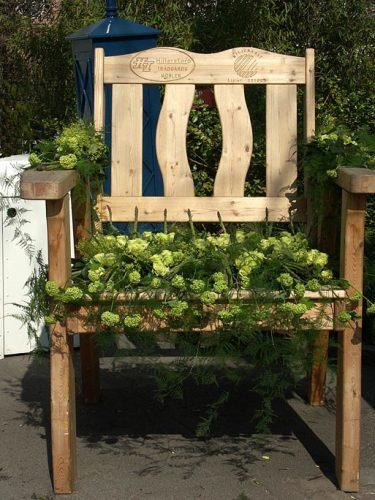 Trädgårdsstol.