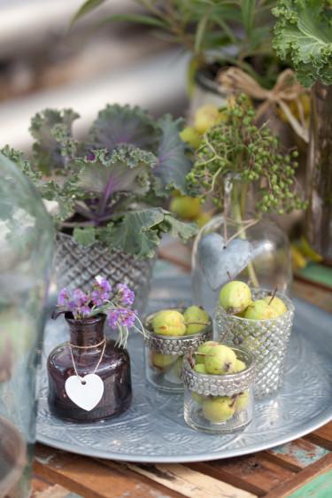 Inspirerande blomsterbricka. Foto: Blomsterfrämjandet
