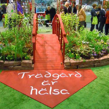 Trädgård är hälsa. Foto: Sylvia Svensson