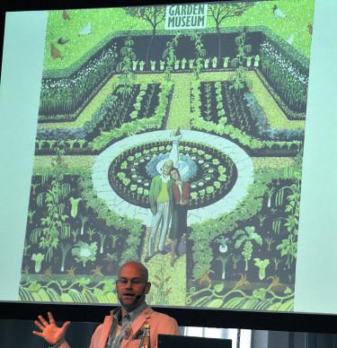 Jan Rundgren talar om trender. Foto: Bernt Svensson