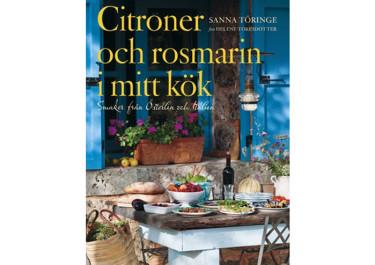 Citroner och rosmarin i Sanna Töringes kök