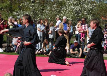 Svärdsdans. Foto: Sylvia Svensson