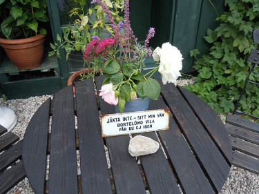 Tänkvärt! Foto: Sylvia Svensson