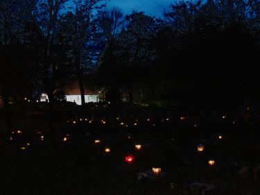 Allhelgonahelgen på kyrkogårdenFoto: Bernt Svensson