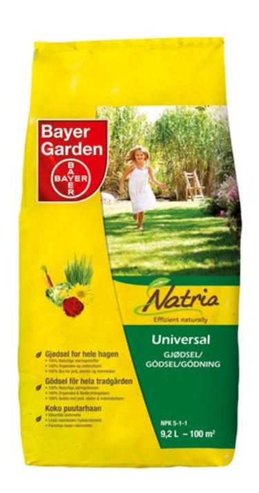 Natria Universalgödsel från Bayer.