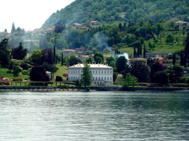 Villa Melzi sett från sjön. På återseende!