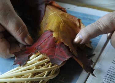 Använd tunn spoltråd att linda med. Foto Bernt Svensson