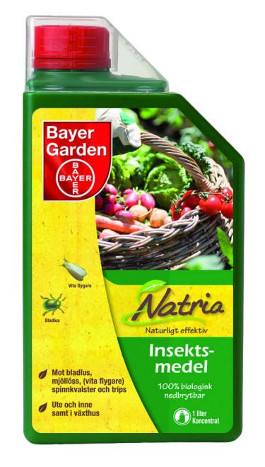 Natria mot ohyra, Bayer Garden.