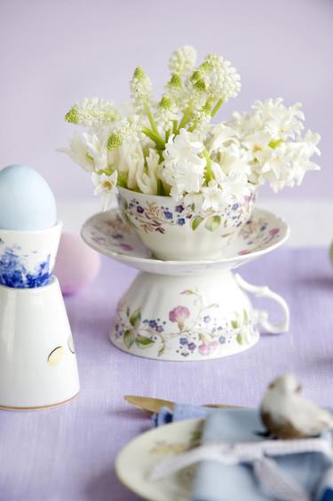 Hyacint och pärlhyacint.  Foto: Blomsterfrämjandet