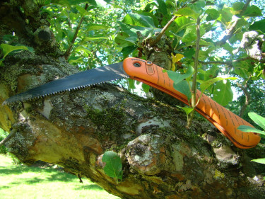 Grensågen är utvecklad för god trädvård.