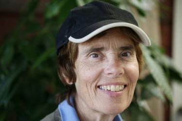 Inger Filipsson, trädgårdsingenjör och plantskoleägare. Foto: Marie Lindell