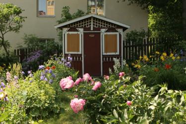 Barnängens koloniområde i Stockholm. Vem kan inte drömma om en sådan plats att koppla av på?