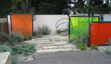 Så här kanske vi inte är vana vid att se en privat trädgård. Men det kan locka till nytänkande!