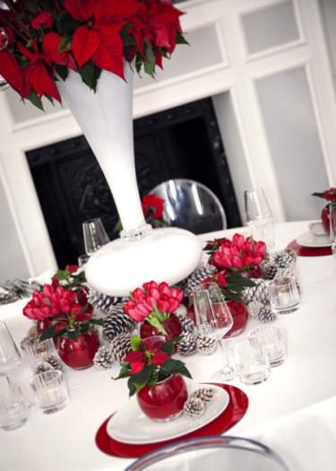 Modern jul i rött. Foto: Stars for Europe