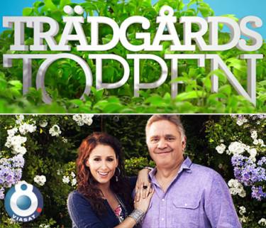 Programledarpar med Sveriges vackraste trädgård i sikte!