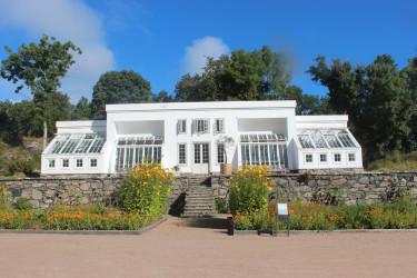 Jag går trädgårdsmästarutbildning på Gunnebo Slott.