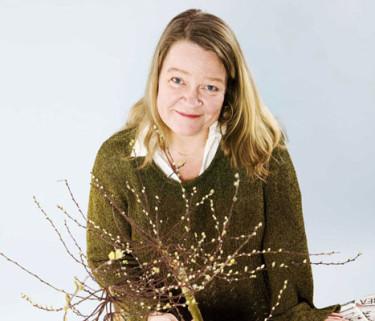 Petra Quiding gör Odla med Stadsgrönt. Foto: Stina Gullander.