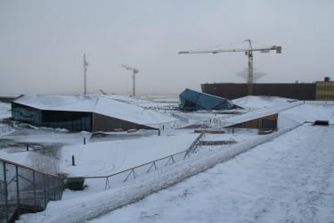 Vem hade trott att en så här hård och kall miljö skulle bli en park!