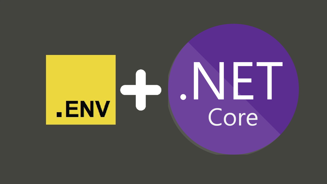 .env + dotnet core