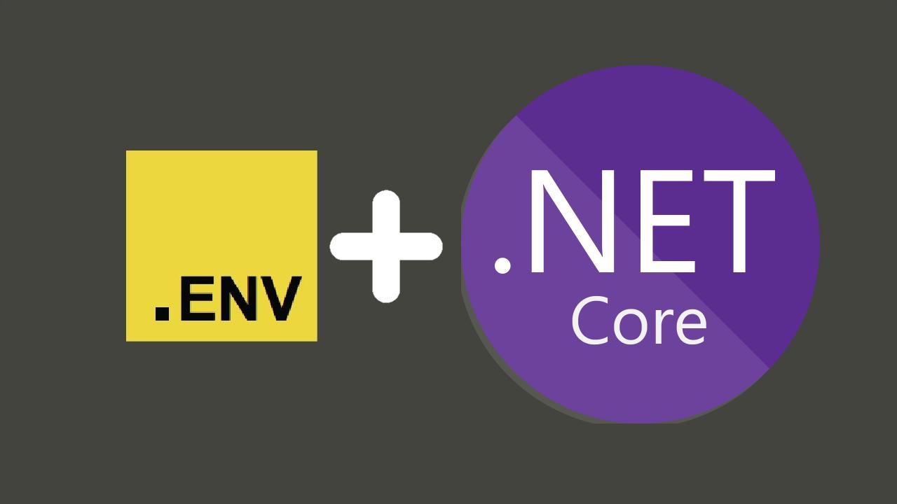 .env + dotnet core