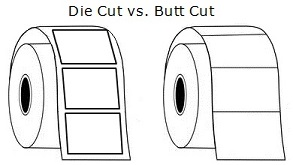 butt cut vs. die cut