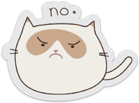 clear-sticker-grumpycat