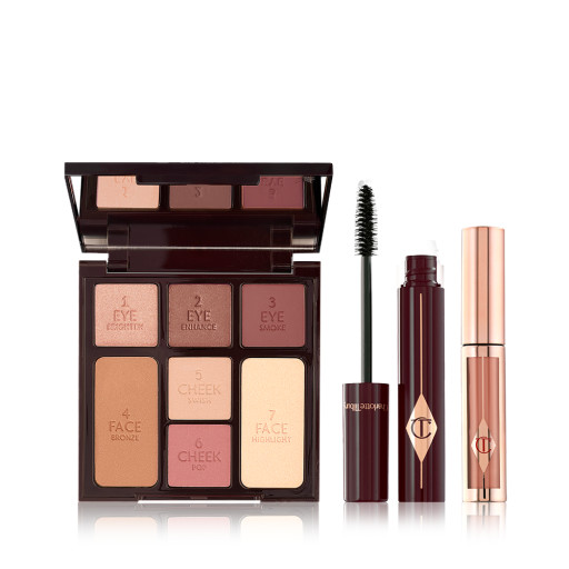 Instant Look In A Palette, Full Fat Lashes and Hollywood Lips Bundle