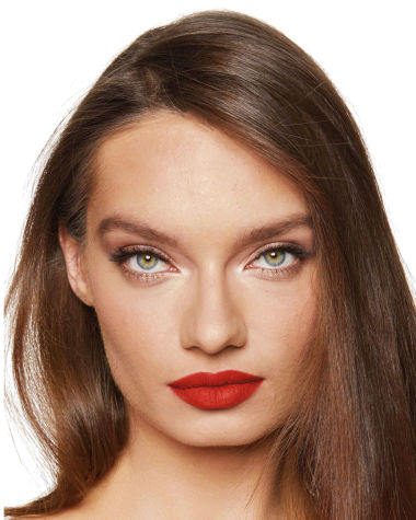 Charlotte Tilbury Hot Lips 2 Red Hot Susan Model 9
