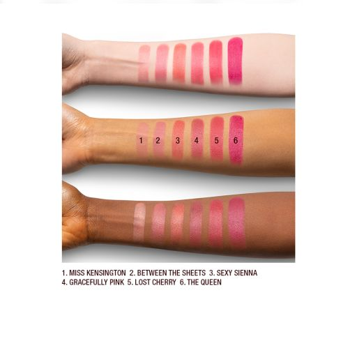 Matte Revolution Pink Shades Arm Swatches