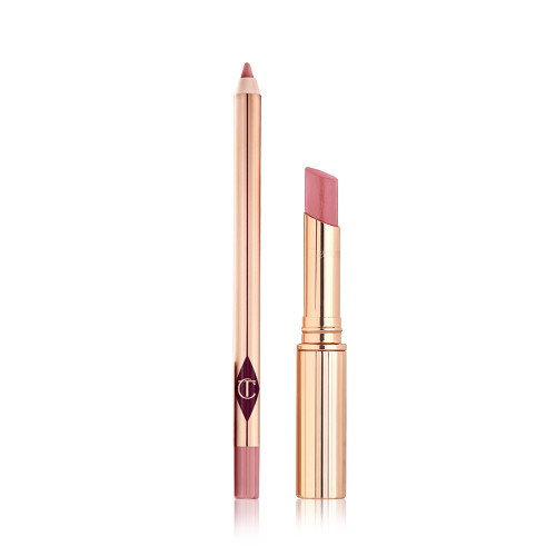 Princess Kiss Superstar Lip Duo Glossy Lipstick & Liner