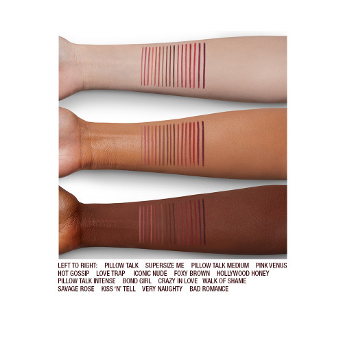 LIP CHEATS ARM SWATCHES