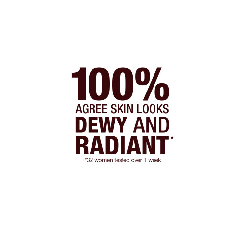 100% agree skin looks dewey and radiant