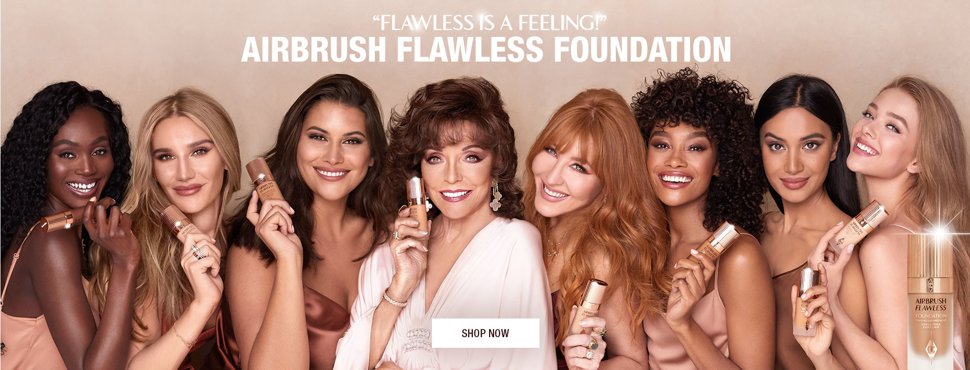 Airbrush Flawless Foundation Models