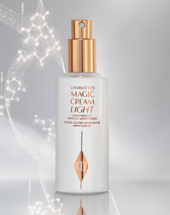 Magic Cream Light Creative Still Life