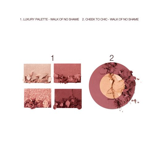 Walk of No Shame Eye and Blush Kit Swatch