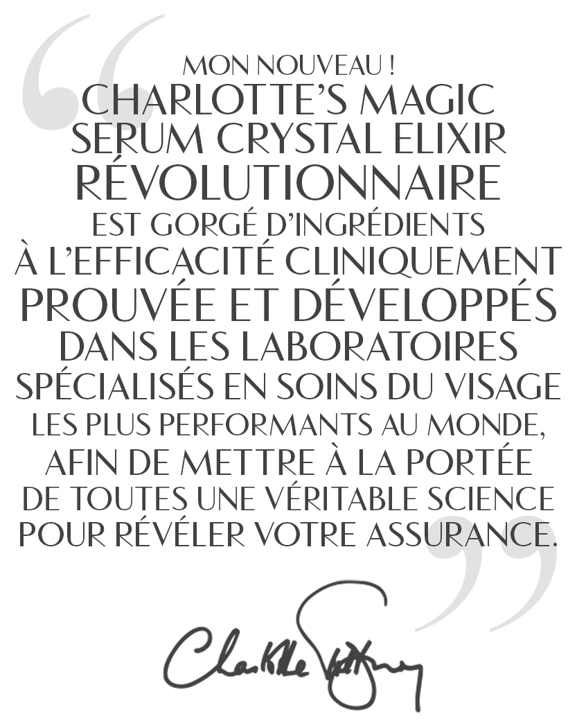 Magic Serum Charlotte Quote French