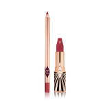 luscious lip slick Amazing Amal lipstick and lip liner