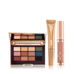 The Icons Palette, Hollywood Lipstick and Beauty Light Wand Goldgasm Bundle