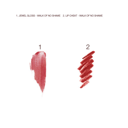 Walk of No Shame Jewel Lip Kit Swatches