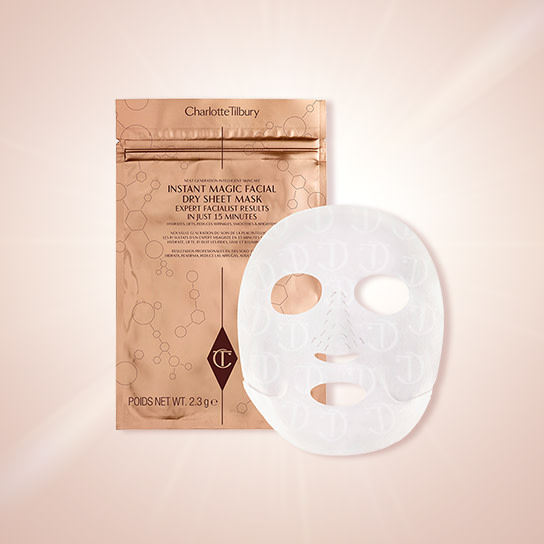 Free Tilbury Treat Dry Sheet Mask