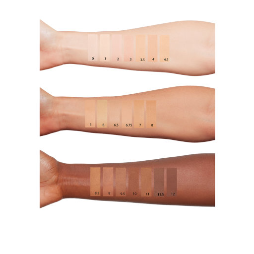 MAGIC FOUNDATION ARM SWATCHES