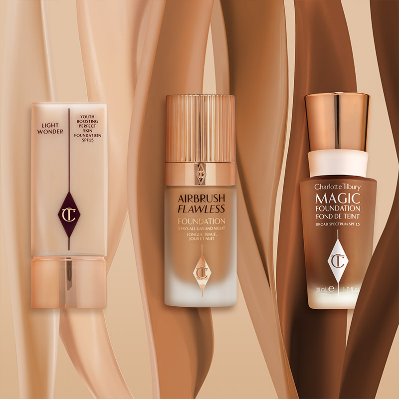 Image of Magic Foundation, Light Wonder and Airbrush Flawless Foundation