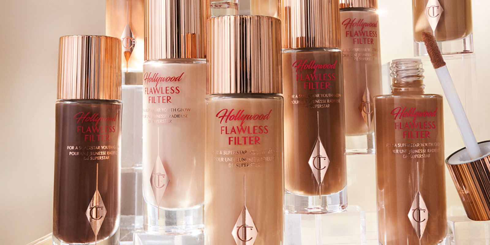 Hollywood Flawless Filter Still Life Product Images