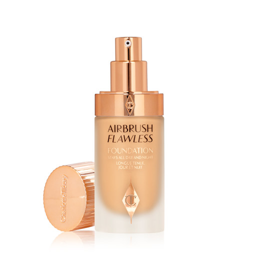 Airbrush Flawless Foundation 7.5 warm open with lid Packshot