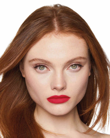 Charlotte Tilbury Hot Lips 2 Patsy Red Model 1