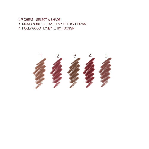 Lip Cheat Swatches for Nude Shades