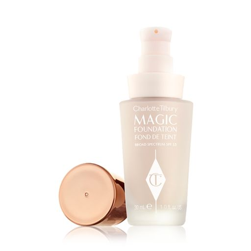 CHARLOTTE TILBURY-MAGIC FOUNDATION-LID OFF